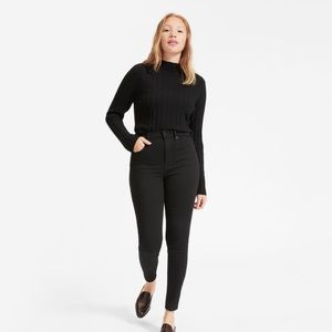 Everlane authentic stretch high rise skinny ankle